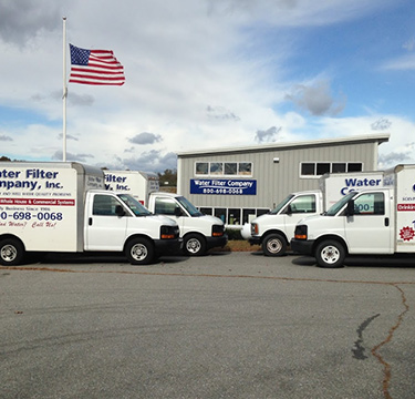 Services from Water Filter Company Rhode Island